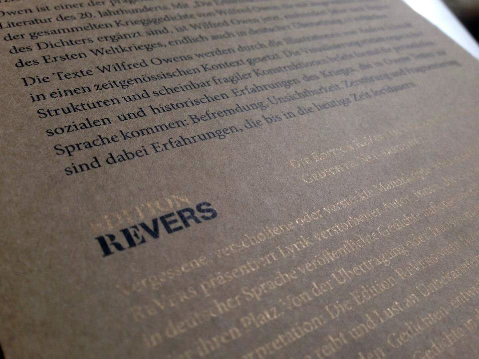 Edition ReVers, Verlagshaus Berlin