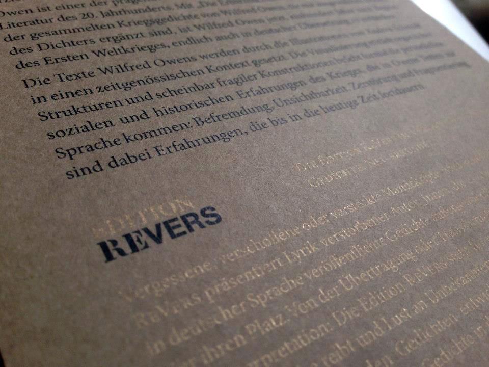 Edition ReVers, Verlagshaus Berlin